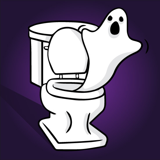 The top 5 most haunted toilets in the UK