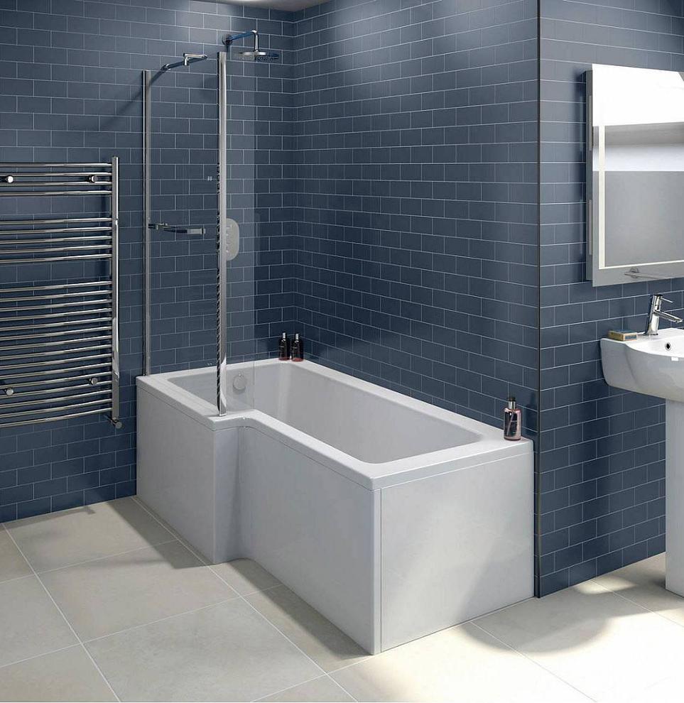 The Boston Square Shower Bath