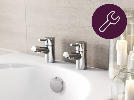 How to fit bath taps