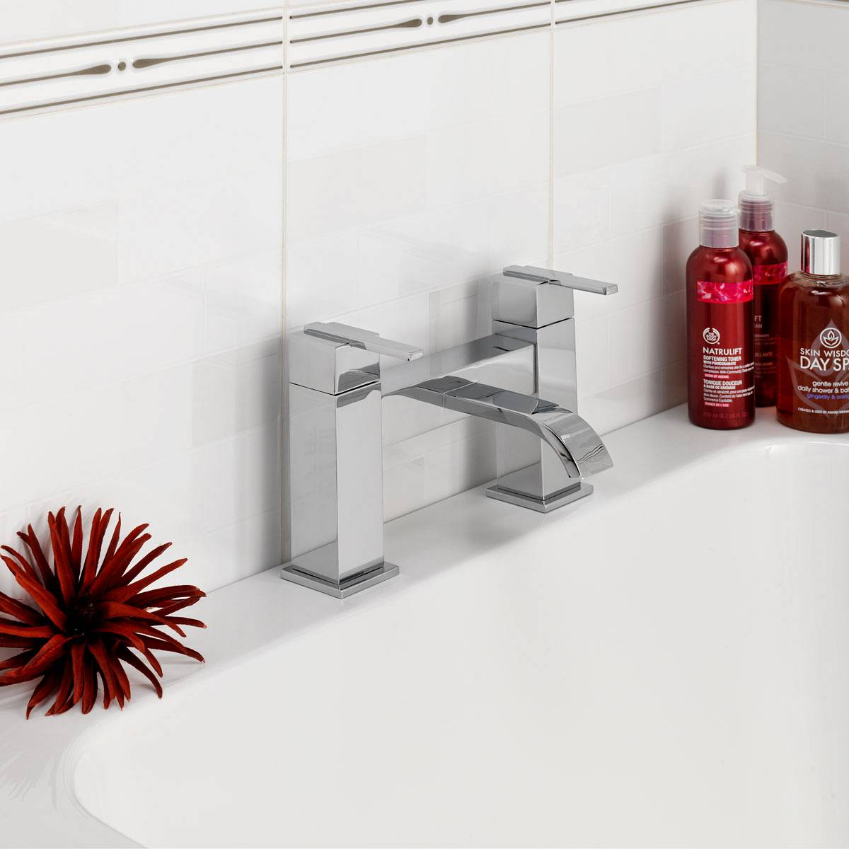 How to fit a bath mixer tap