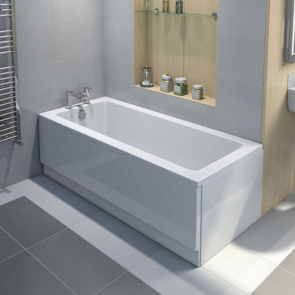 How To Fit An Acrylic Bath Panel VictoriaPlumcom