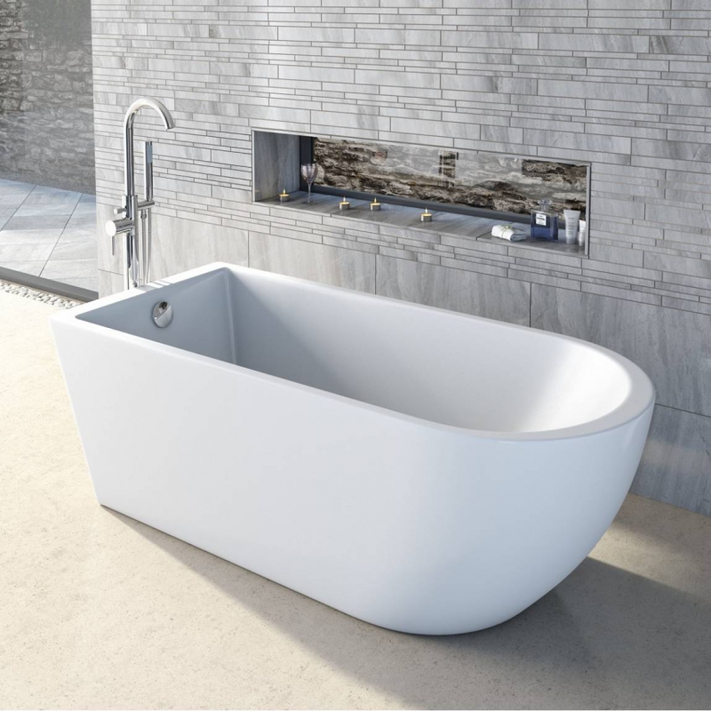 Curve Freestanding Bath