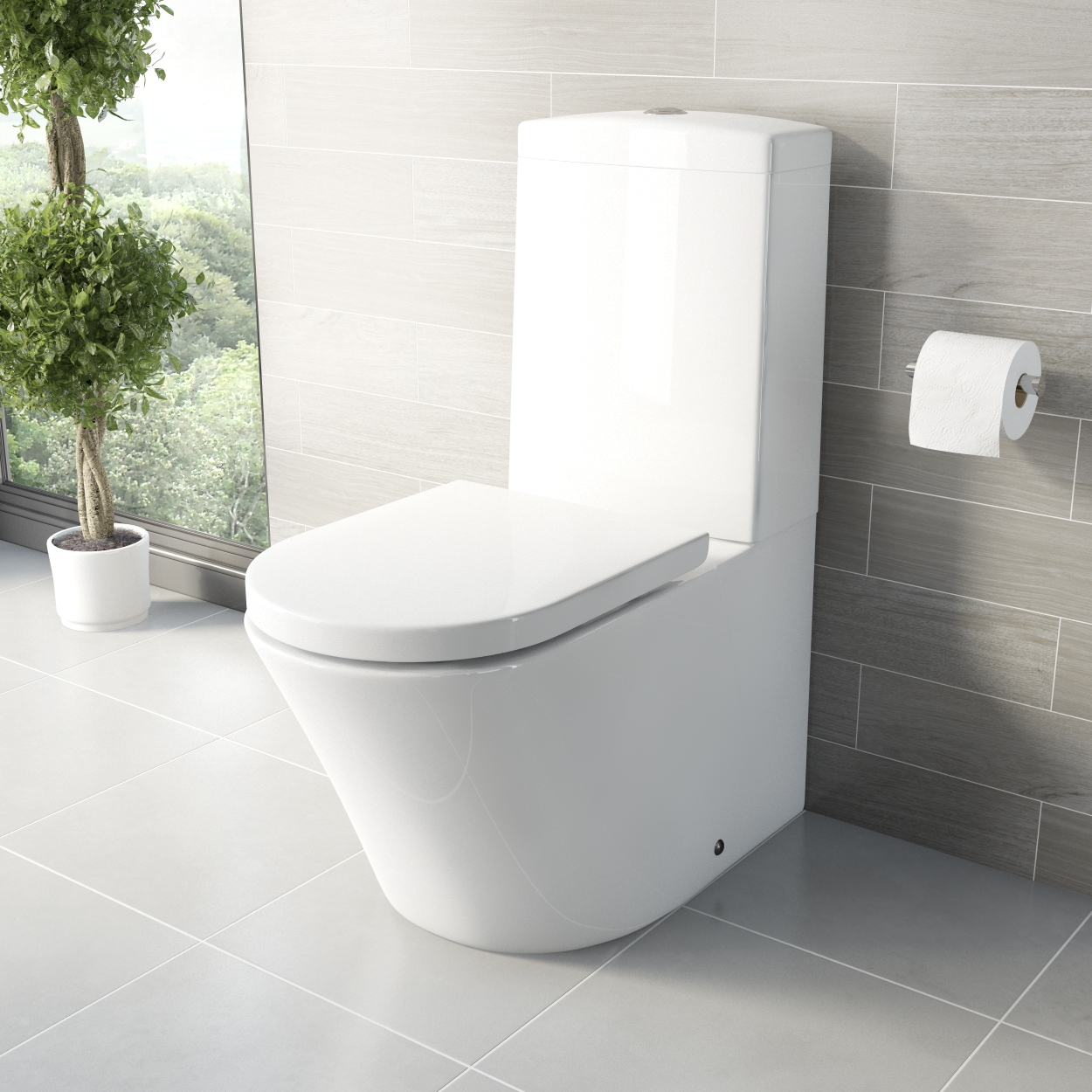 Arte Close Coupled Toilet