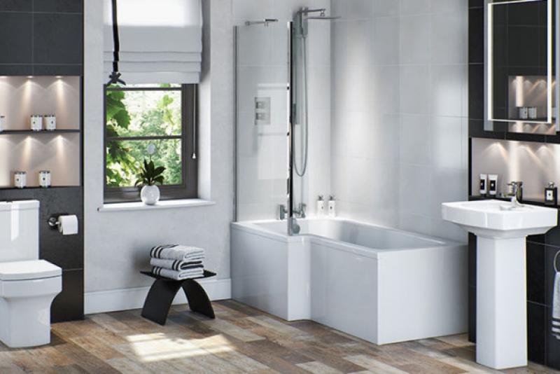 Vermont shower bath suite