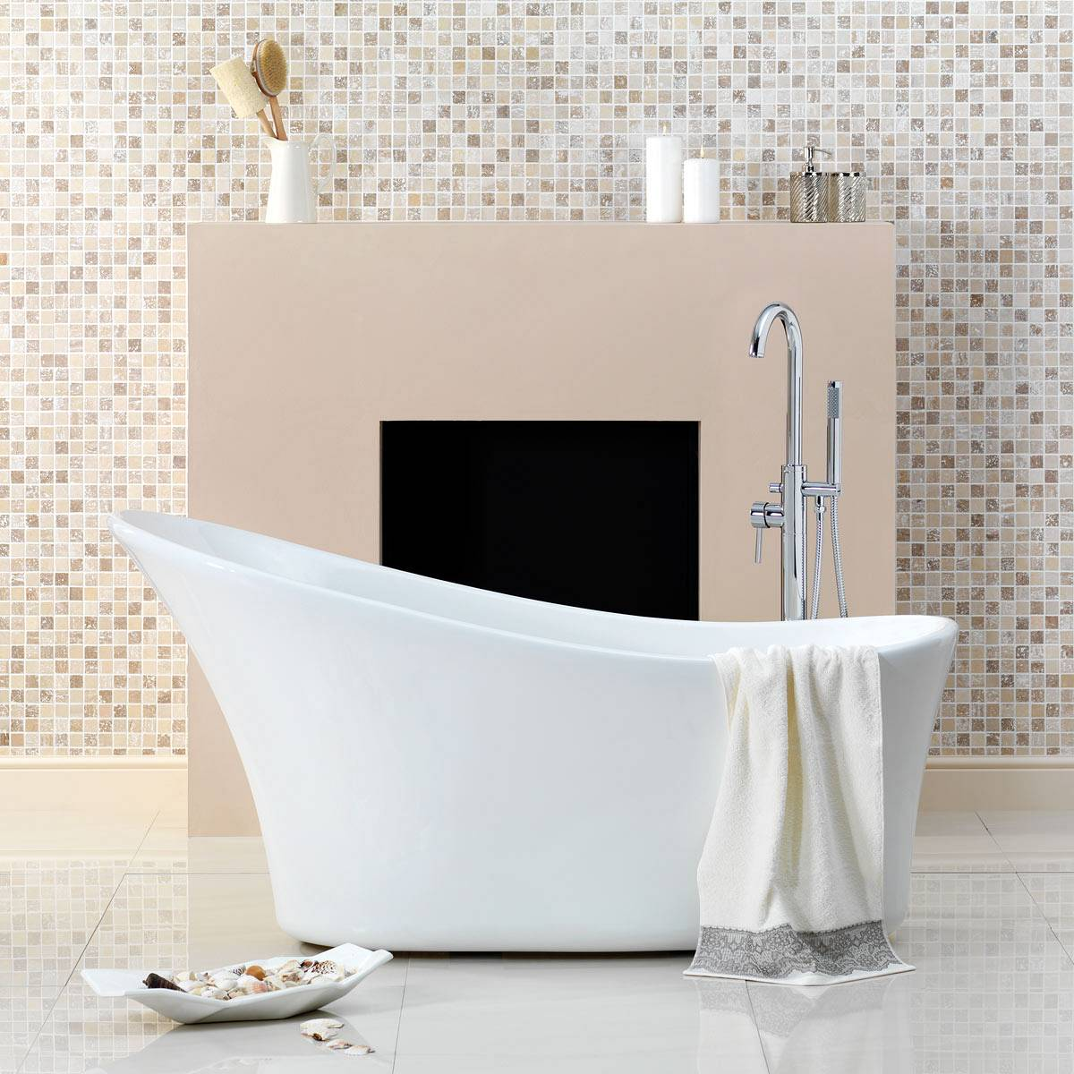 Harding Single Ended Slipper Bath