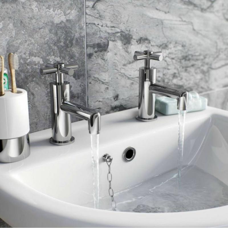 Alexa basin mixer tap
