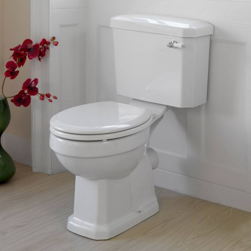 Clarity wooden toilet seat