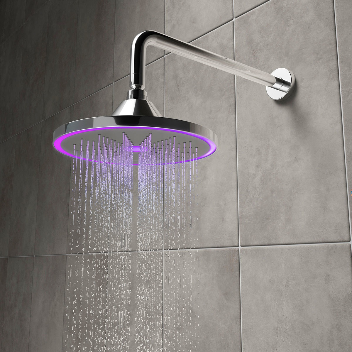 Hydro LED shower head