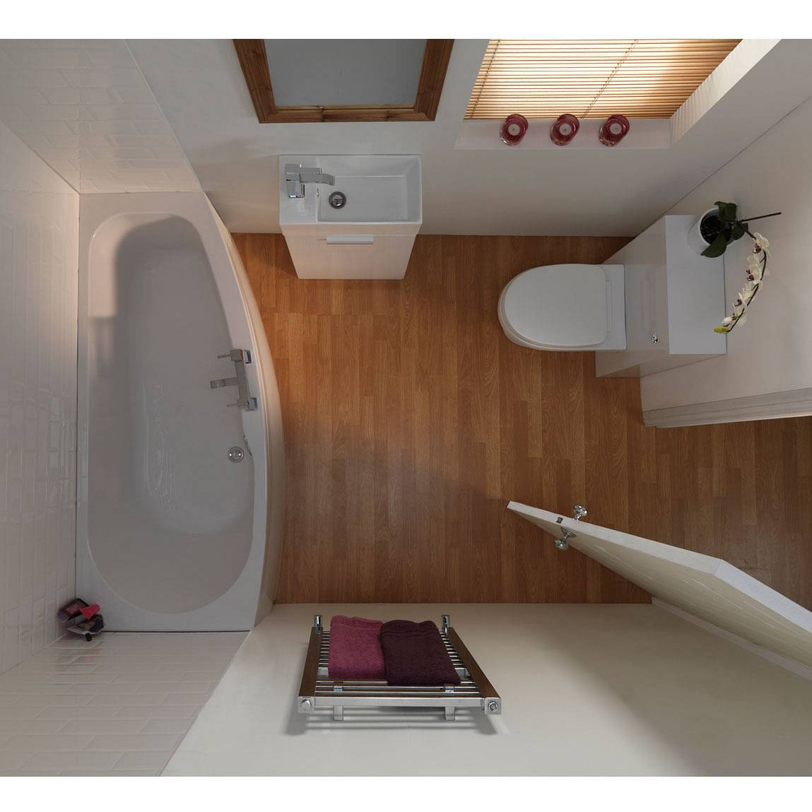 Planning a small bathroom - Small bathroom suites for small spaces collection ...