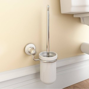 Winchester Toilet Brush and Ceramic Holder