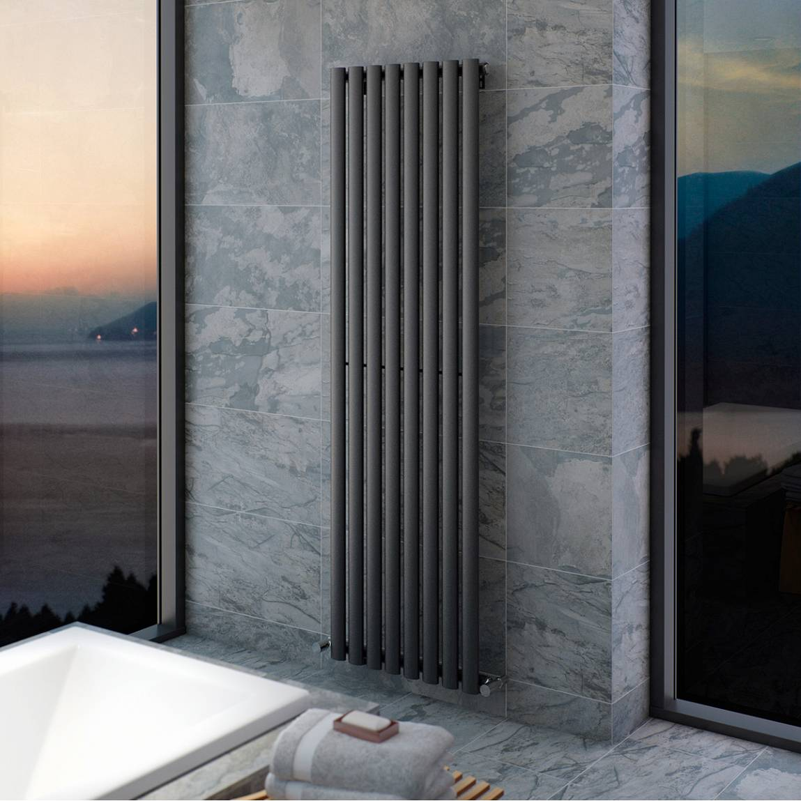 Lava Double Radiator