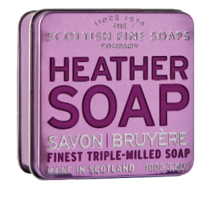 Scottish Fine Soaps heather soap