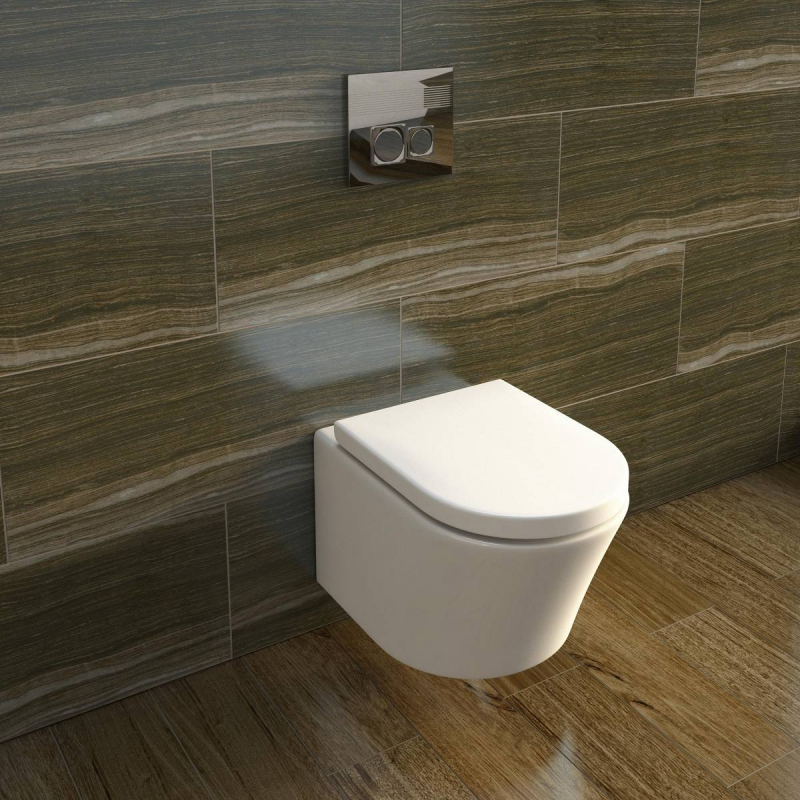 Arte Wall Hung Toilet inc Seat