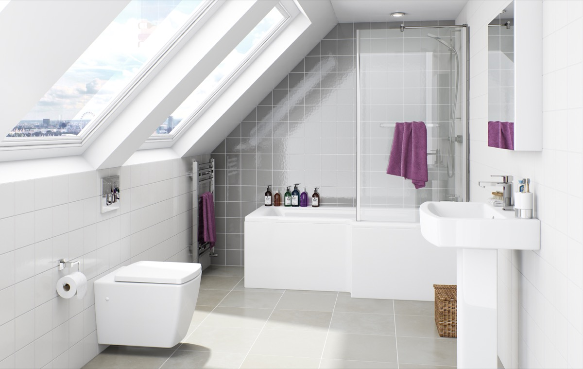 Get the most out of your ensuite - Small bathroom suites for small spaces collection ...