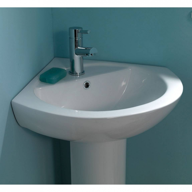 Corner Basin With Pedestal : Full Pedestal Basin Buying Guide VictoriaPlum.com