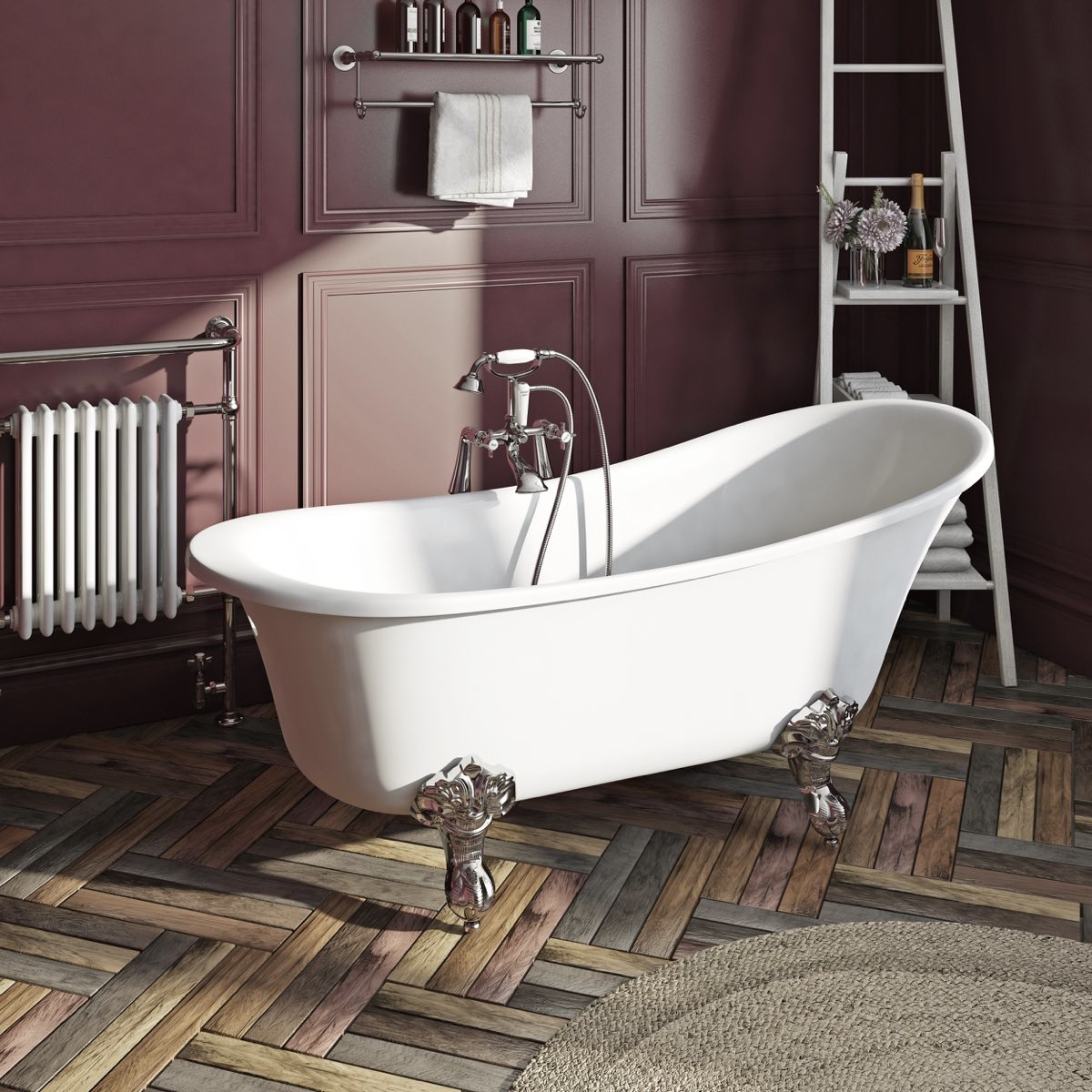 Elegant Elsie freestanding bath