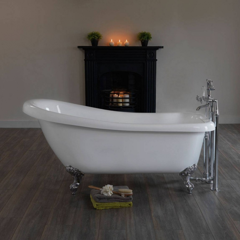Winchester Single Ended Slipper Bath