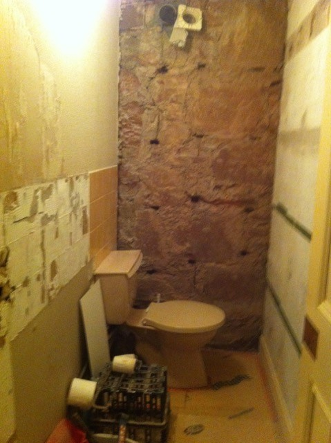Alan from Isle of Arran Bathroom Before