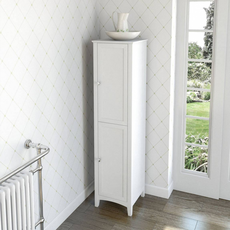 Camberley White Tall Unit