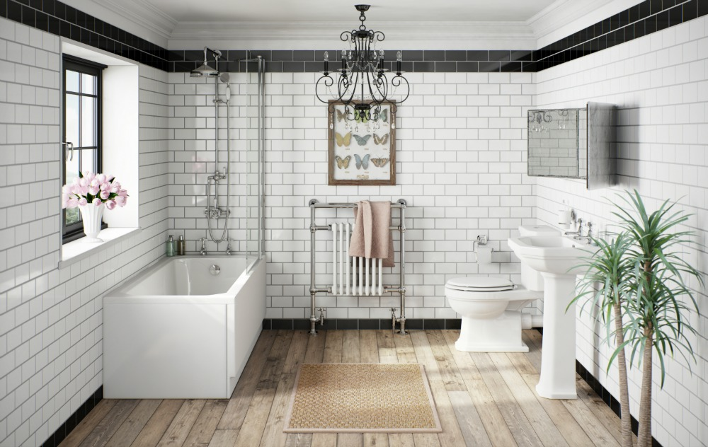 create a victorian style bathroom. Black Bedroom Furniture Sets. Home Design Ideas