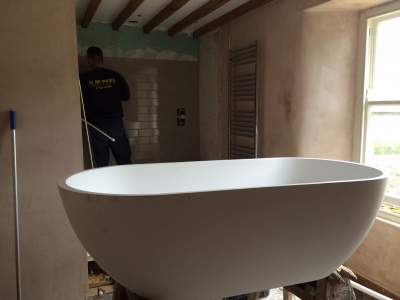 Dave from Wensleydale Bathroom Before