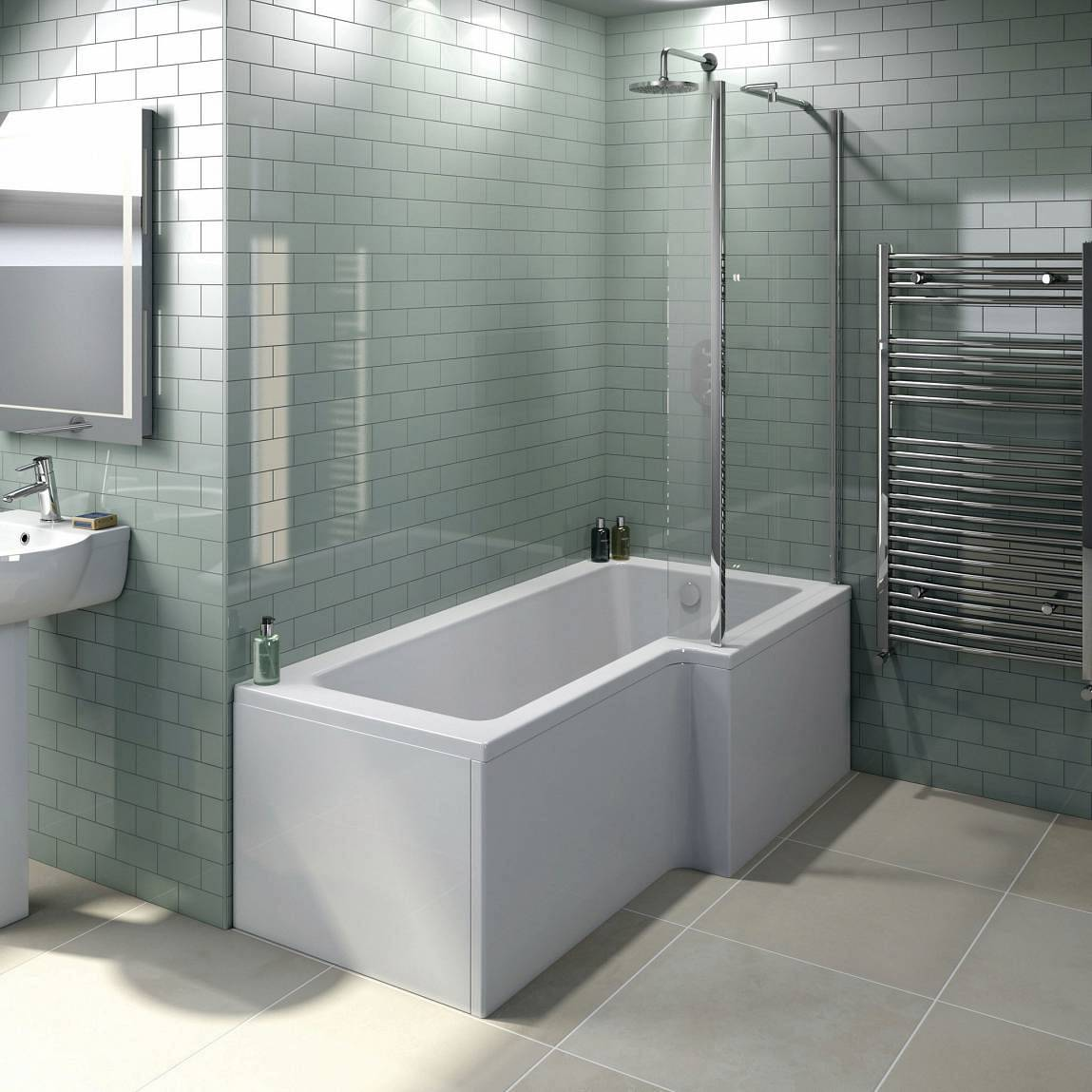 The space saving boston shower bath for Bathtub shapes and sizes
