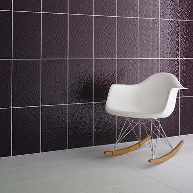 Studio Conran Facet Plum Gloss Tile