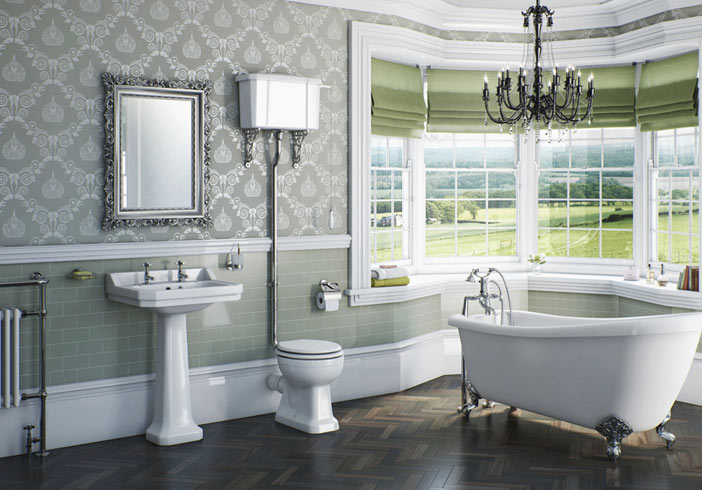 Style art deco on budget for Bathroom ideas victoria bc
