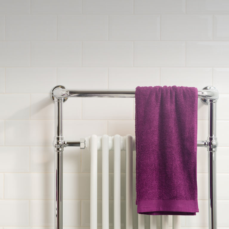 Elizabeth heated towel rail