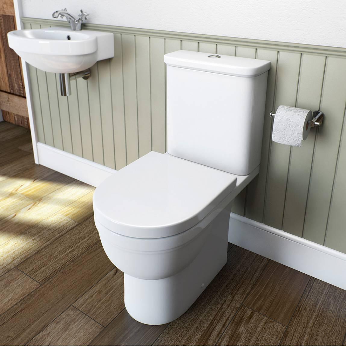 Deco toilet seat