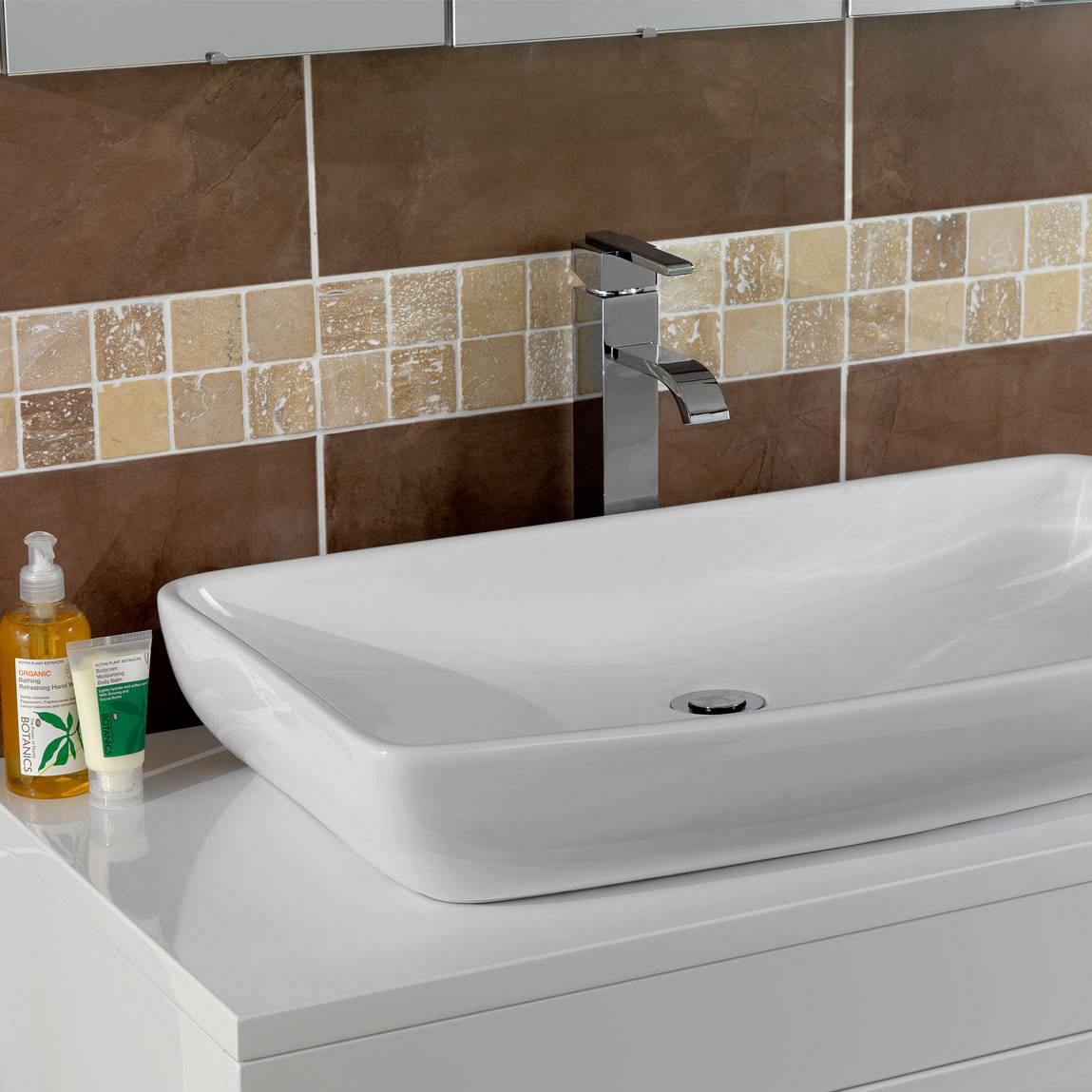 Ridge High Rise Basin Mixer Tap