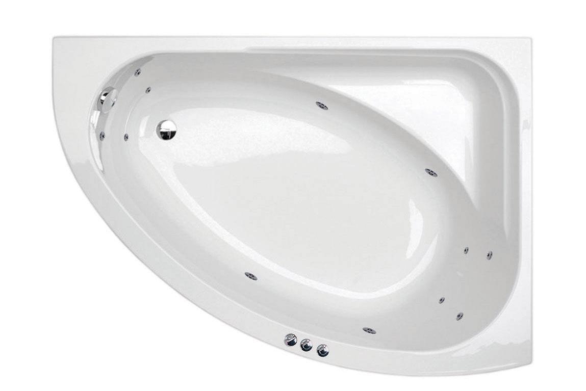 Camden corner 12 jet right handed whirlpool bath
