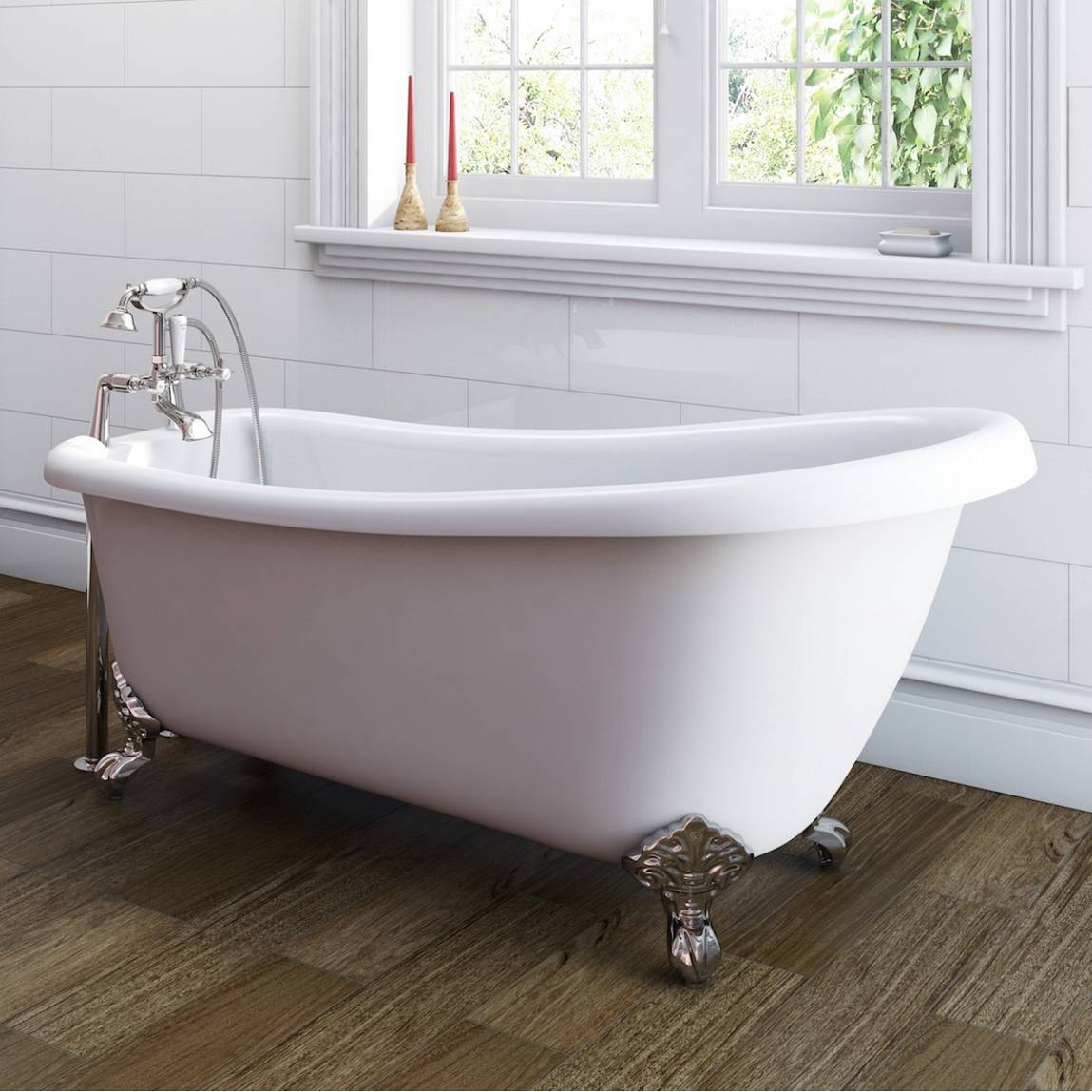 Winchester roll top bath