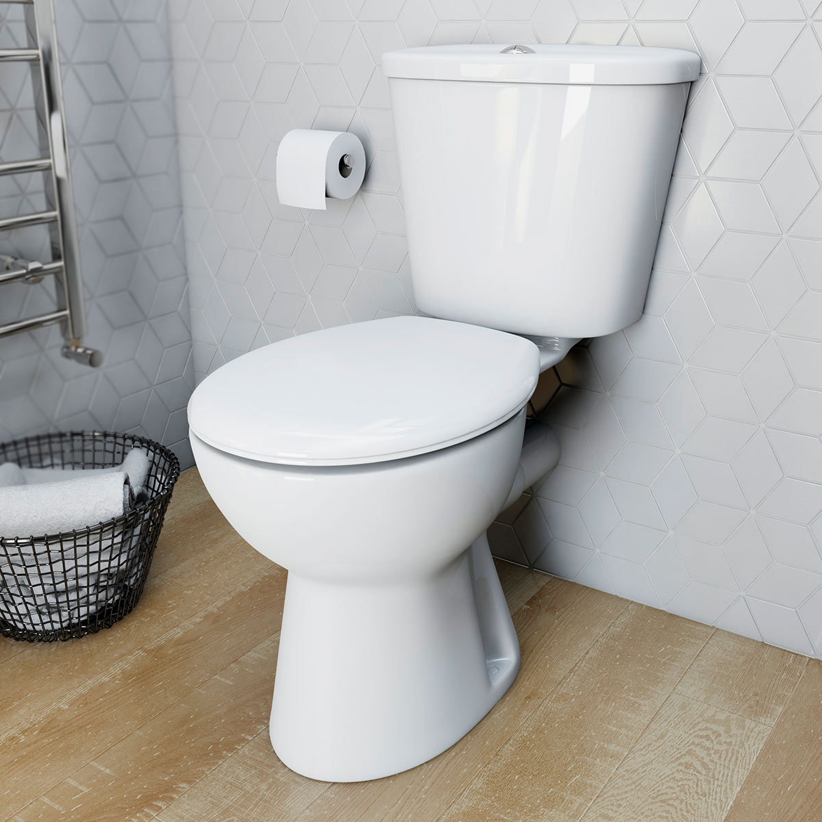 Simple universal thermoplast toilet seat