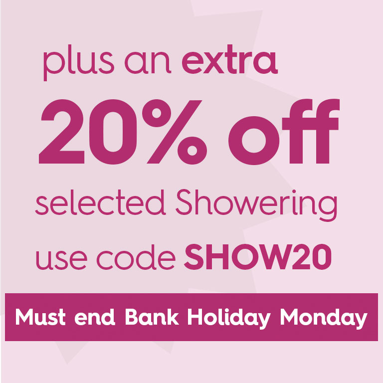 Extra 20% Off Showering
