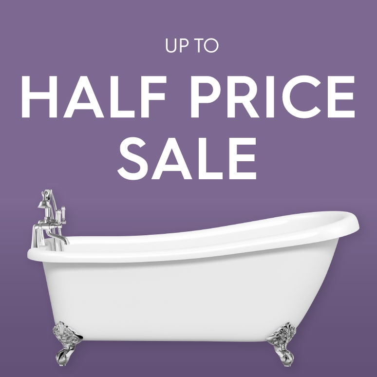 Half Price Bathroom Sale