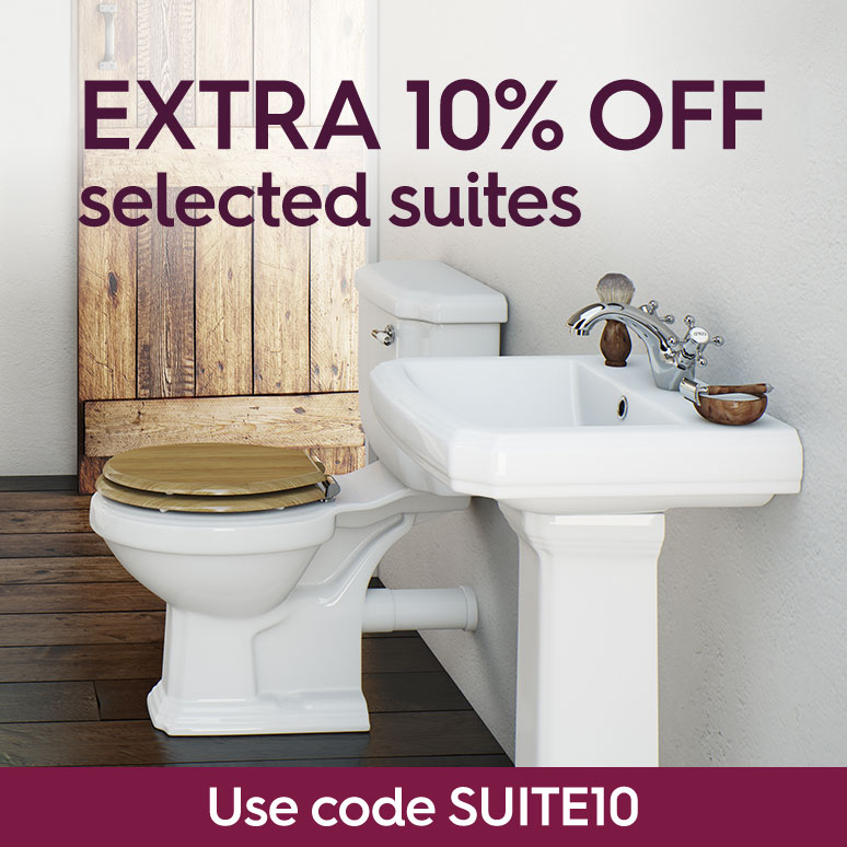Extra 10% off selected suites