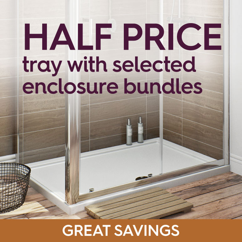 Half Price Tray with selected Enclosure Bundles
