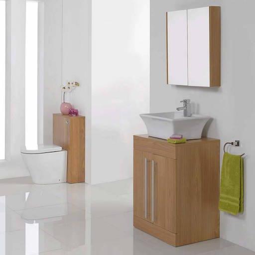 Odessa Oak Bathroom Furniture