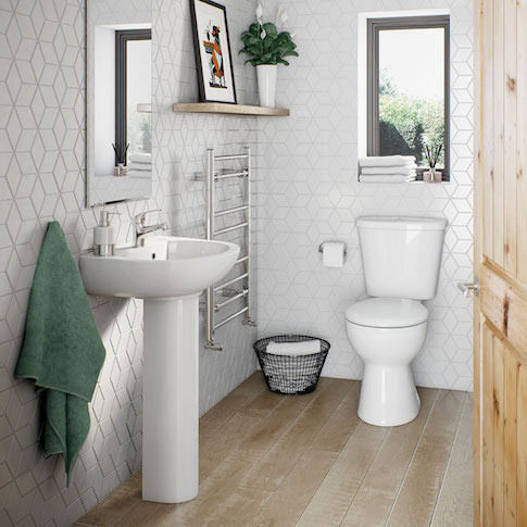Simple Bathroom Suite Range
