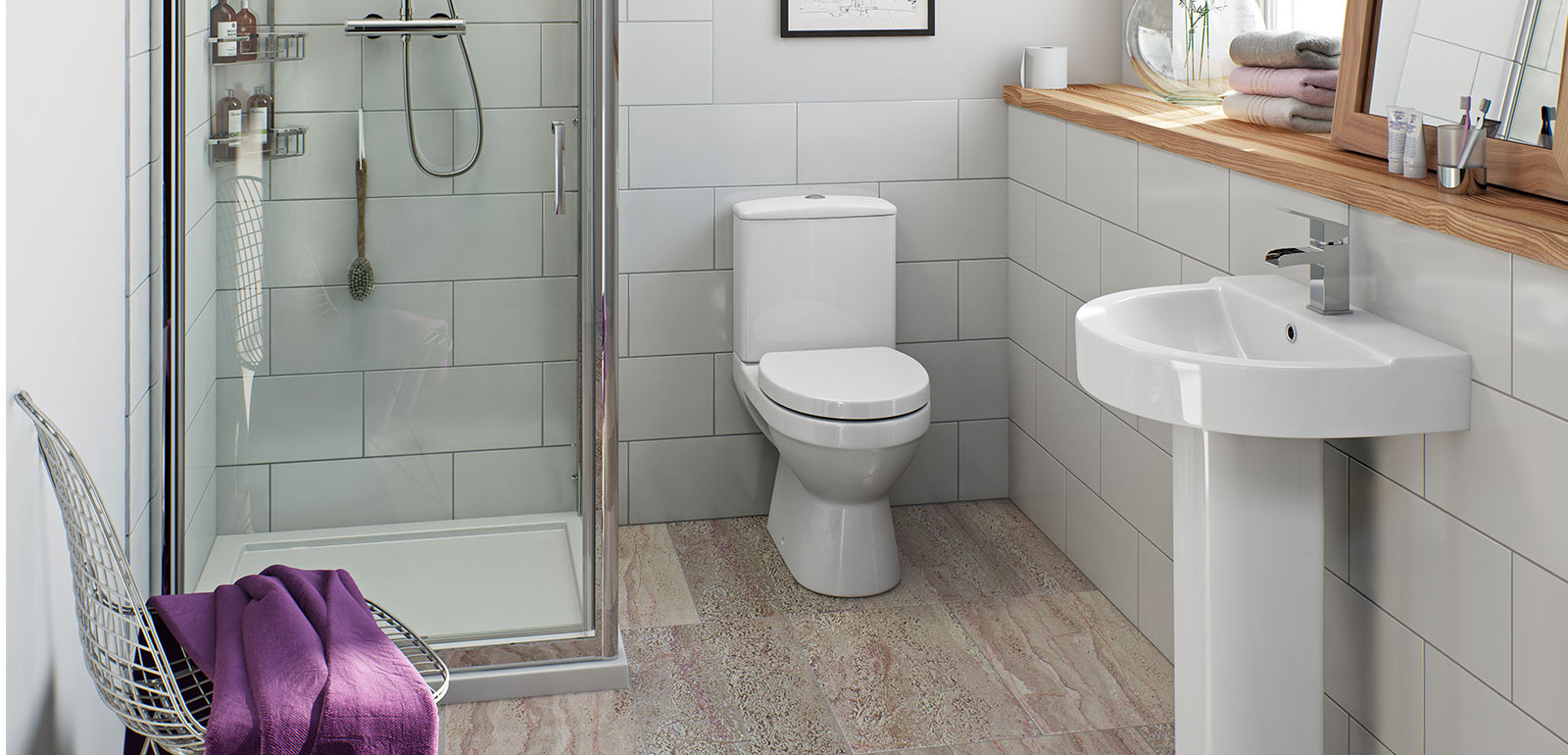 Sorrento Bathroom Suite Range