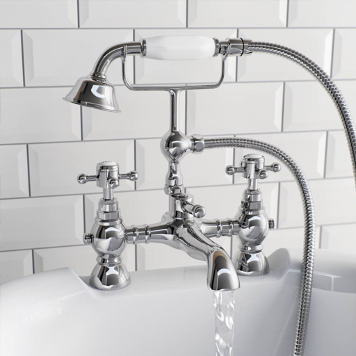 traditional bath shower mixer tap