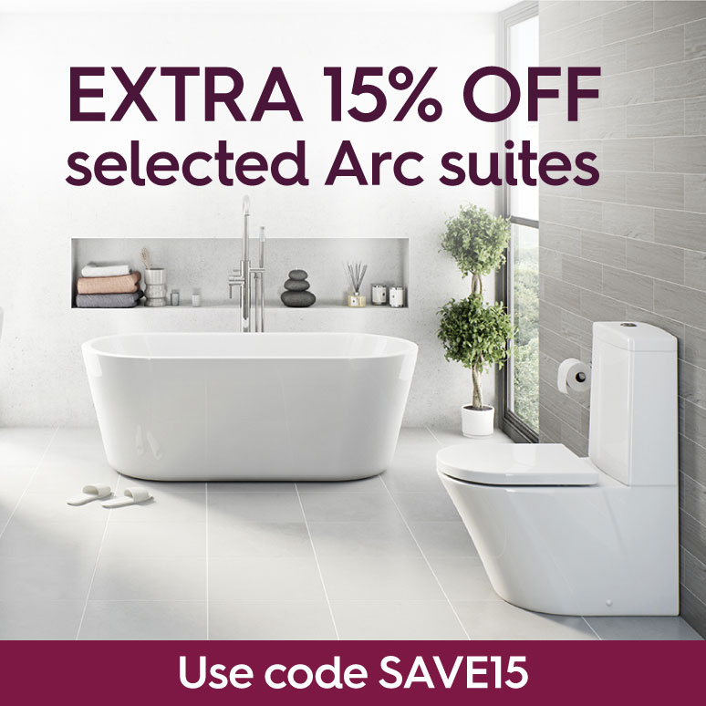 Extra 15% off selected Arc suites