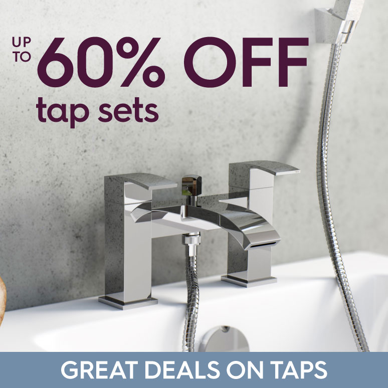 Up to 60% off tap sets