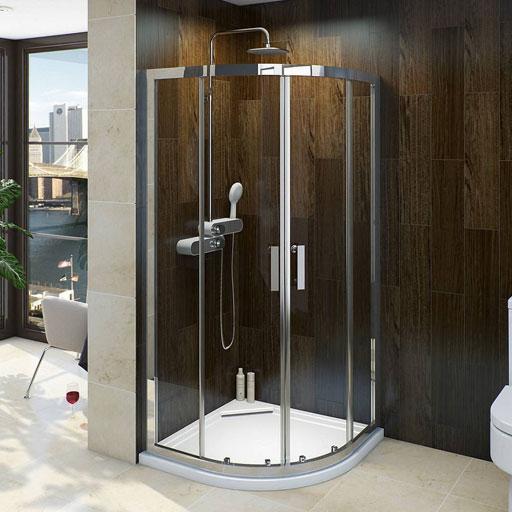 Curved Shower Enclosures