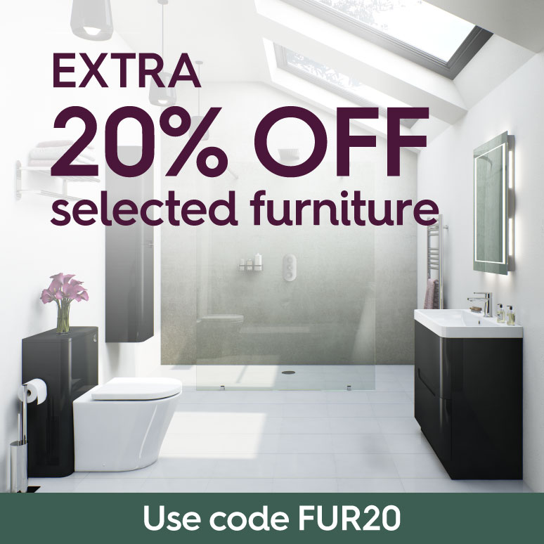 An extra 20% off selected Furniture with code FUR20