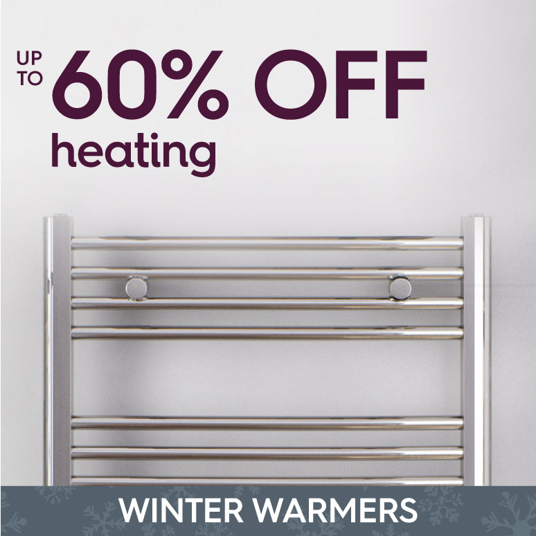 Winter warmers up to 60% off heating