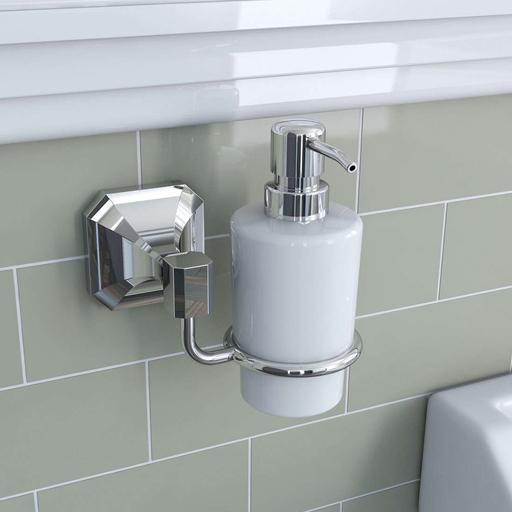 wall hung soap dispenser