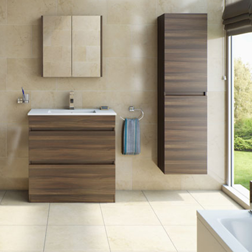Plan Walnut Bathroom Furniture