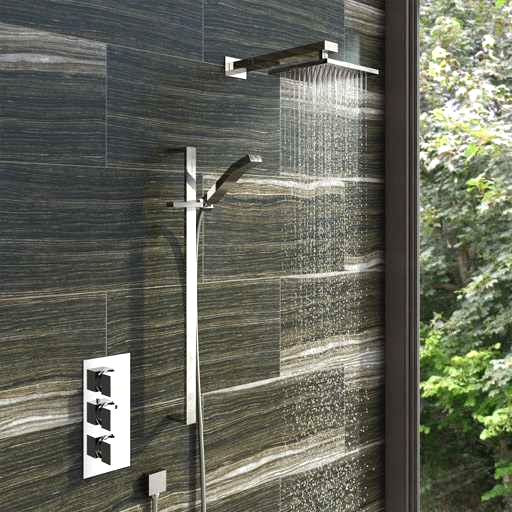 Image of thermostatic showers